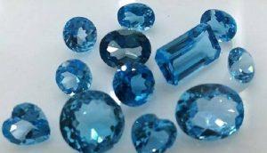 Đá Aquamarine màu xanh biển