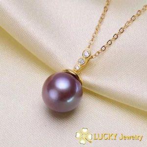 Mặt dây chuyền Ngọc Trai vàng 18k LJ536