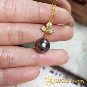 Mặt dây chuyền Ngọc Trai vàng 18K LJ541