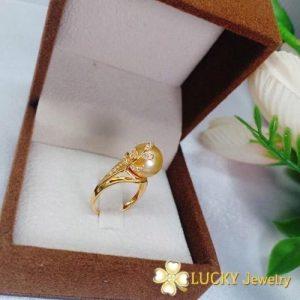 Nhẫn Ngọc Trai vàng 18K LJ545