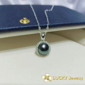 Mặt dây chuyền Ngọc trai bạc cao cấp