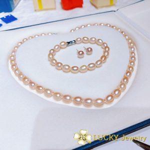 Bộ trang sức Ngọc trai