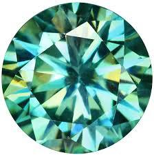 kim cương Moissanite xanh lá