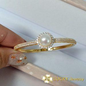 Vòng tay Ngọc Trai vàng 18k LJ538