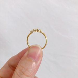 Nhẫn Kim cương Moissanite LJ655