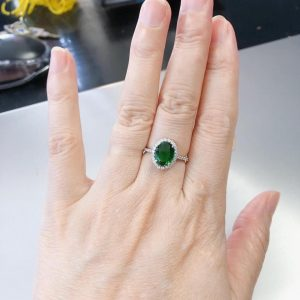 Nhẫn Kim cương Moissanite LJ656