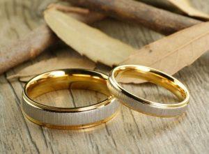 Nhẫn cưới vàng 18K LJGU83