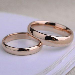 Nhẫn cưới vàng 14K LJGU77