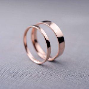 Nhẫn cưới vàng 14K LJGU74