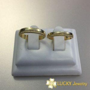 Nhẫn cưới vàng 18K LJGU69
