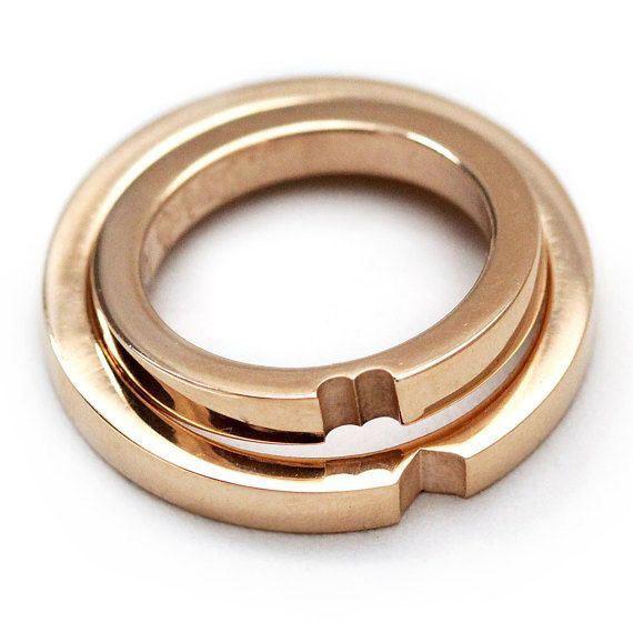 Nhẫn cưới vàng 14K LJGU73