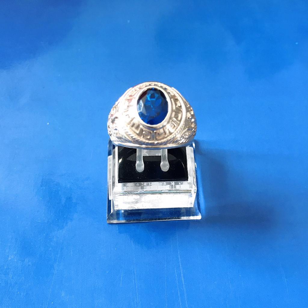 Nhẫn bạc Đại bàng đính đá nhân tạo