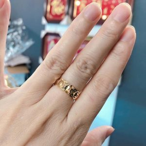 Nhẫn kim tiền vàng 18K - Trang Sức Lucky