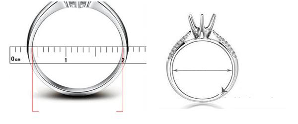 cách đo size tay đeo nhẫn